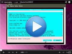 Bootowalny UbuntuOne  DMDE Linux LXTerminal