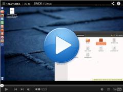 Przykład uruchomienia w LinuxieDMDE Linux ver. 2.4.4.lin32