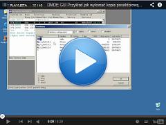 Przykład jak wykonać kopie posektorową do pliku DMDE GUI