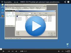 Przykład jak wykonać kopie posektorową z dysku na dysk DMDE GUI