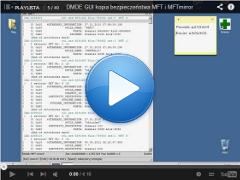 Kopia bezpieczeństwa MFT i MFTmirror DMDE GUI ver. 2.2.2