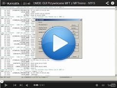 Przywrócenie MFT z MFTmirror - NTFS.  DMDE GUI ver. 2.0.0 beta 8