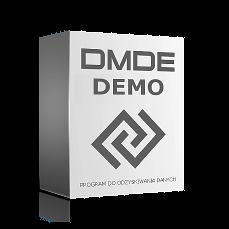 Program DMDE do odzyskiwania danych GUI interfejs graficzny dla Windows 64 bit