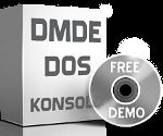 Program DMDE do odzyskiwania danych konsola dla DOS