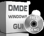 Program DMDE do odzyskiwania danych GUI interfejs graficzny dla Windows