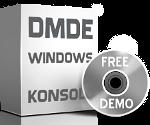 Program DMDE do odzyskiwania danych Konsola dla Windows