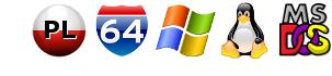 PL, 64 bit, Windows, Linux, DOS